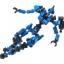 ASOBLOCK Epsilon Blue อโซบล็อค หุ่นนักรบ Epsilon สีน้ำเงิน thumbnail 3